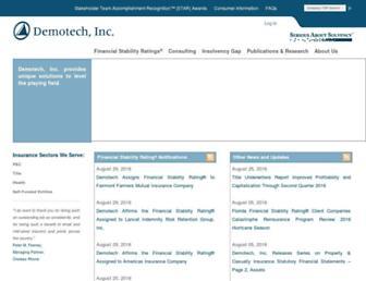 demotech.com screenshot