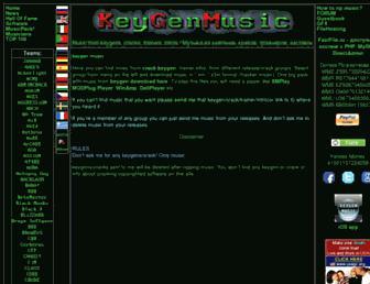 keygenmusic.net screenshot