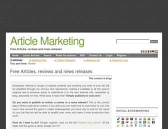 en.article-marketing.eu screenshot