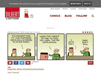 Thumbshot of Dilbert.com