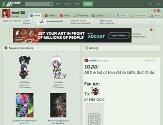 beni100.deviantart.com screenshot