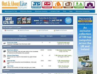 forums.outandaboutlive.co.uk screenshot
