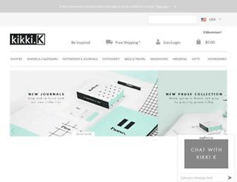 kikki-k.com screenshot