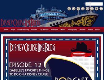 disneycruiselineblog.com screenshot