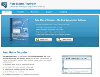 automacrorecorder.com screenshot