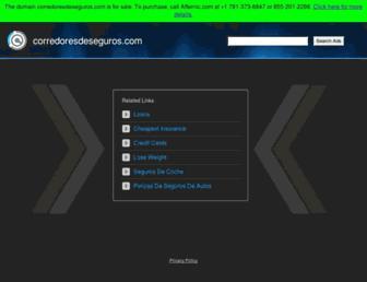 Thumbshot of Corredoresdeseguros.com