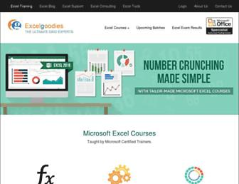 excelgoodies.com screenshot