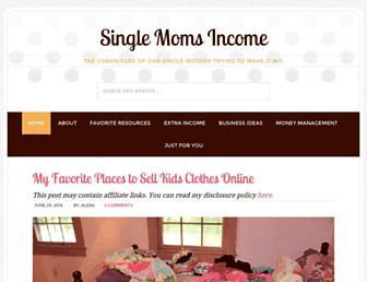 Thumbshot of Singlemomsincome.com
