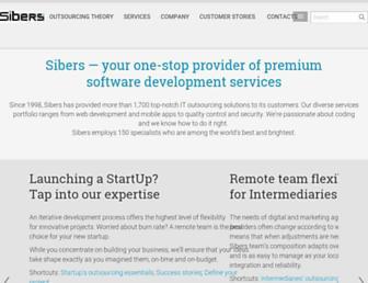 Thumbshot of Sibers.com