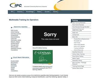 ipctraining.org screenshot