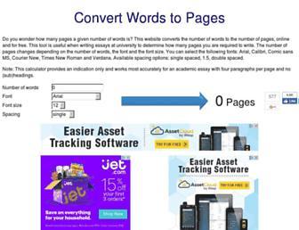 Thumbshot of Wordstopages.com