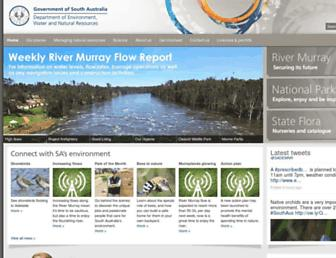 environment.sa.gov.au screenshot