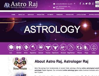 astro-raj.com screenshot