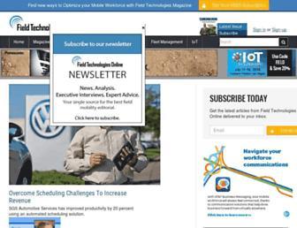 fieldtechnologiesonline.com screenshot