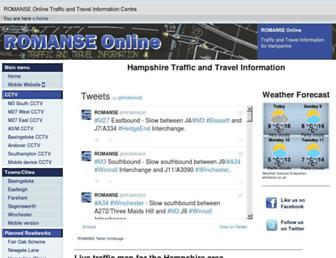 romanse.org.uk screenshot