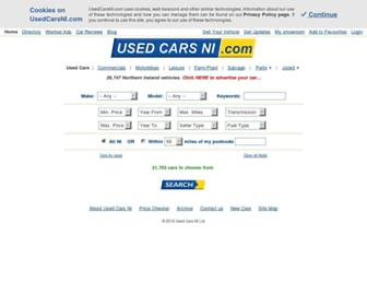 usedcarsni.com screenshot