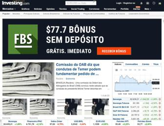 br.investing.com screenshot