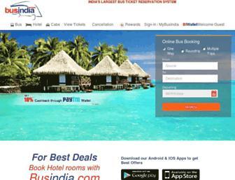 Thumbshot of Busindia.com