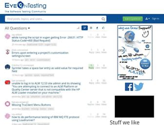 eyeontesting.com screenshot