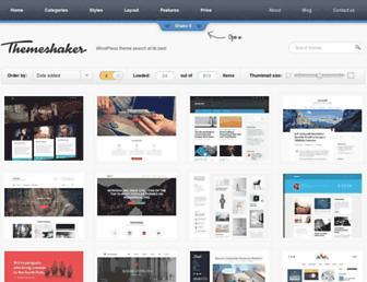 themeshaker.com screenshot