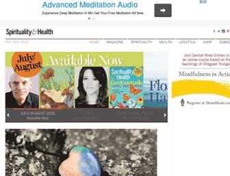 Thumbshot of Spiritualityhealth.com