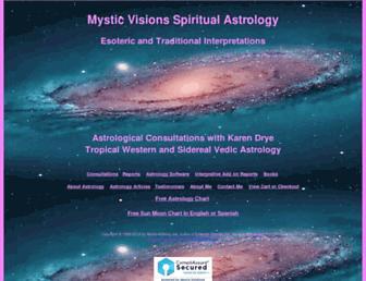 spiritualastrology.com screenshot
