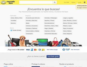 Thumbshot of Mercadolibre.com.co