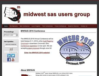 mwsug.org screenshot
