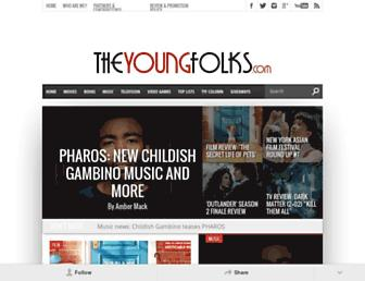 theyoungfolks.com screenshot