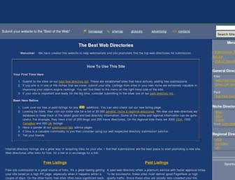 Thumbshot of Best-web-directories.com