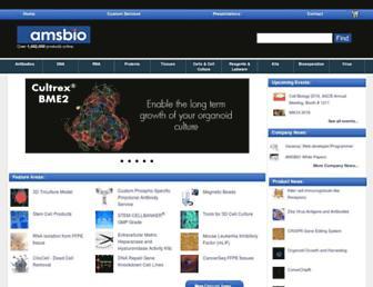 amsbio.com screenshot