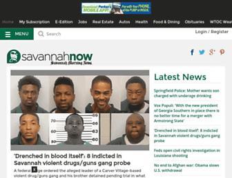 Thumbshot of Savannahnow.com