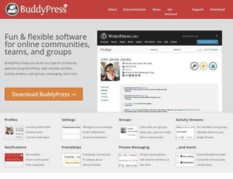 Thumbshot of Buddypress.org