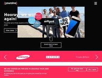 yourzine.com screenshot