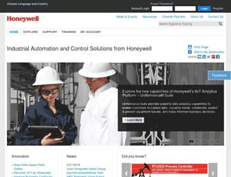 honeywellprocess.com screenshot