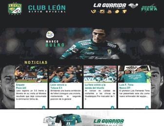 Thumbshot of Clubleon-fc.com
