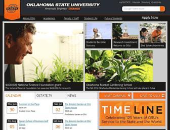 Thumbshot of Okstate.edu