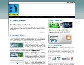 netrust.net screenshot