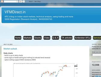 vfmdirect.in screenshot