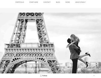 theparisphotographer.com screenshot