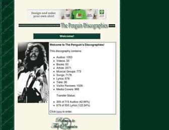 discog.fleetwoodmac.net screenshot