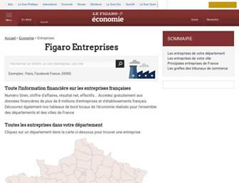 entreprises.lefigaro.fr screenshot
