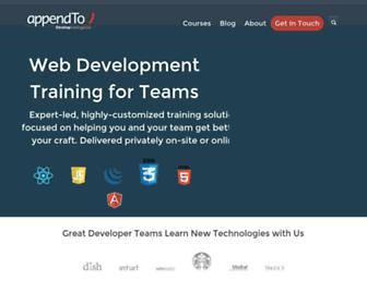 appendto.com screenshot