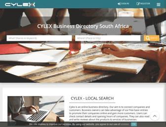 cylex.net.za screenshot