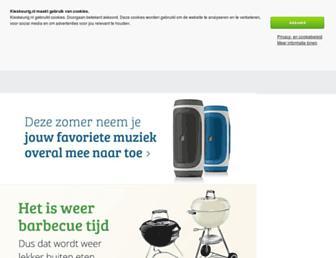 Main page screenshot of kieskeurig.nl
