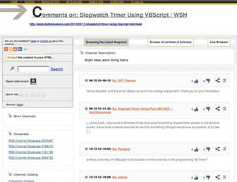 stopwatch62.rssing.com screenshot