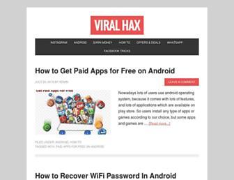 viralhax.com screenshot