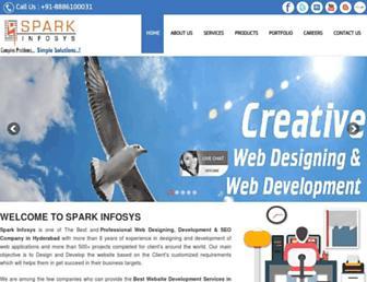 Thumbshot of Sparkinfosys.com