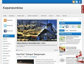 kapanpunbisa.blogspot.com screenshot