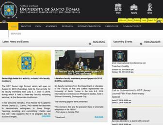 ust.edu.ph screenshot
